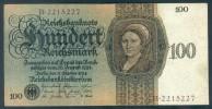 Deutschland, Germany - 100 Mark, Reichsbanknote, Ro. 171 A ,  ( Serie K/B  ) 1924 ! - [ 4] 1933-1945 : Terzo  Reich