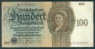 Deutschland, Germany - 100 Mark, Reichsbanknote, Ro. 171 A ,  ( Serie K/B  ) 1924 ! - [ 4] 1933-1945: Derde Rijk