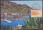 Monaco N°311A - Carte Maximum - TB - Maximum Cards