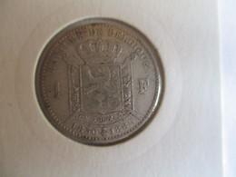 Belgique 1 Franc 1880 - 07. 1 Franc