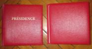 2 Reliures Pésidence Tb état (220) - Komplettalben