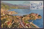 Monaco N°296 - Carte Maximum - TB - Cartes-Maximum (CM)