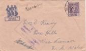 Australia Military Mail, Aust Army Post Office Censored Cover - Australia
