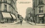 Dép 92 - Becon Les Bruyeres - Rue Armand Sylvestre - Aux Travailleurs à Gauche - Epicerie De Choix à Droite - Otros Municipios