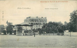 Dép 92 - Kiosque - Kiosque à Musique - Bois Colombes -Avenue D´Argenteuil - Publicité Chocolat & Thé De La Cie Coloniale - Otros Municipios