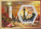 Lighthouses. Shells 2015. Sheet 1v - Leuchttürme