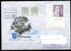 ESTONIA Estland To Germany FDC Postal Cover Cancelled 1994 - Stamp Gustavus II Adolphus, King Of Sweden - Estonia