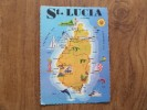 49327 POSTCARD: CARIBBEAN: WEST INDIES: ST. LUCIA. - Other