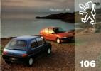 Catalogue - Peugeot 106 (1994)