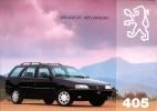 Catalogue - Peugeot  405 Break (1994)