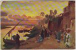 """R Tucksérie """"Oilette""""Cairo Coucher De Soleil - Tuck, Raphael"""