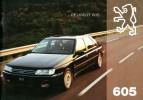Catalogue - Peugeot  605 (1994)