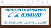 Autocollant Sticker Houry Froid-climatisation / Ours Polaire Animal Polar Bear // ADH 21/5 - Aufkleber