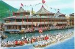 15663. Postal HONG KONG. The Tai Pak Floating Restaurant - China (Hong Kong)