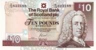 SCOTLAND 10 POUNDS RBS P 353 UNC - [ 3] Scotland