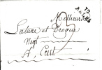 MARQUE POSTALE LAC  12 ARLES A CREST  AN 10   1802 - Marcophilie (Lettres)