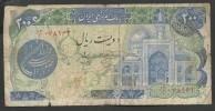 Markazi Bank Iran 200 Rials Very Rare!! - Iran