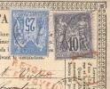 SEINE INFERIEURE 76 ROUEN Tad 18 Du 31/05/1878 Sur CP Recommandée Affr Avec 25 + 15 C Sage Retour Envoyeur TB - 1877-1920: Semi Modern Period