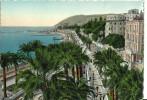 Sanremo (Imperia, Liguria) Panorama E Corso Imperatrice, Promenade - San Remo