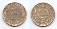 Yugoslavia 5 Dinara 1983 - Yugoslavia