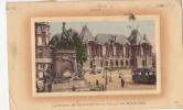 LILLE LA STETUE DE FAIDHERBE ET LE PALAIS DES BEAUX_ARTS - Lille