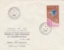 ENVELOPPES DE ST PIERRE ET MIQUELON AN 1965 CENTENAIRE DE L UNION INTERNATIONALE DES TELECOMMUNICATIONS - Non Classés