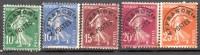 Lot N°51/53-55-57  - Oblitéré -  Preo - Type Semeuse Fond Plein      - FRANCE - 1893-1947