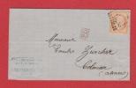 Lettre // De Lille // Pour Colmar   //  7 Janvier 1874 - 1849-1876: Klassik
