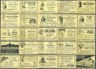 25 Alte Gasthausetiketten Aus Deutschland #131 - Luciferdozen - Etiketten