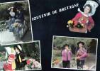 CPM Folklore  Bretagne - Costumi