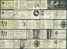 25 Alte Gasthausetiketten Aus Deutschland #133 - Luciferdozen - Etiketten