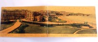 Carte Postale Ancienne Double : BIARRITZ : Vue Prise De L' Hotel Du Palais Prise Des Appartements De S. M. Edouard VII - Biarritz