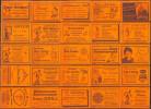 25 Alte Gasthausetiketten Aus Deutschland #135 - Luciferdozen - Etiketten