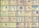 25 Alte Gasthausetiketten Aus Deutschland #139 - Luciferdozen - Etiketten