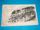 64 ) Biarritz - Guides-baigneurs De La Grande Plage  - Année 1900 . EDIT : - Biarritz