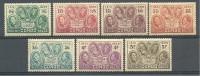 Congo Belge - 185 - 191 ** , Très Beaux, Rare Dans Cet état - Cote 80 - 1923-44: Mint/hinged
