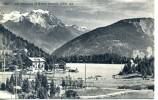 Belle CPA, Lac Champex Et Grand Combin (4317m) - VS Valais