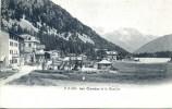Belle CPA, Lac Champex Et Le Combin - VS Valais