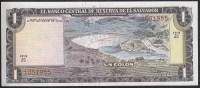 El Salvador 1colones 1974 P120 UNC - El Salvador