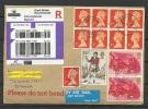 Great Britain 2015 Registered Air Mail Cover To Estonia - 1952-.... (Elizabeth II)