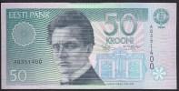 Estonia 50 Krooni 1994 P78 AQ351400 AUNC - Estonie