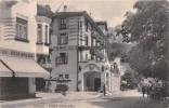 """02864 """"(BELLUNO) - CORTINA - HOTEL CONCORDIA"""" ANIMATA,  AUTO. FOT. G. GHEDINA.  CART.   SPED. 1932 - Belluno"""