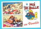 CPM Moi Je Bulle En Vendée Femmes Seins Nus Sur La Plage, Breasts Nude Illustration RAVEL - Fine Nudes (adults < 1960)