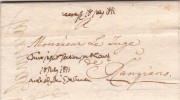 Pref. Periodo Napoleonico. Province Illiriche, Da Gorizia Per Il Giudice Di Ranziano, Slovenia. 17luglio 1811 - Italia