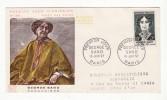 France   Lettre 1er Jour   George Sand    15 Juin 1957     Paris - 1950-1959