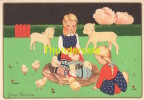 CPA ILLUSTRATEUR JAMES PENNYLESS PAQUES ** ARTIST SIGNED EASTER CARD JAMES PENNYLESS - Pennyless, James