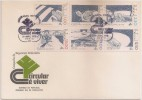Portugal FDC 1978 - Segurança Rodoviária - Road Safety/Driving Safety - Sécurité Routière - Straßenverkehrssicherheit - FDC