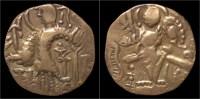 Kushan Kingdom Kidarites AV Dinar - Greche