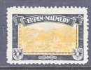 LOST COLONIES  MOURNING LABEL  EUPEN-MALMEDY  * - Germany