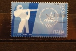 ITALIA USATI 2006 - GIOCHI OLIMPICI INVERNALI TORINO 2006 BIATHLON - RIF. M 1242 - QUALITA´ LUSSO - 6. 1946-.. Repubblica